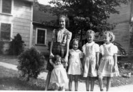 Ann, Barb, Rica, Grace, Sue 1944