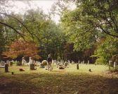 Ann at Cedar Hill Cemetery, 1988