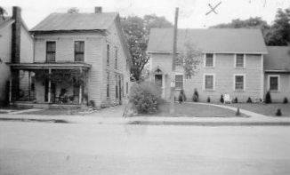 Our Corydon house, on right