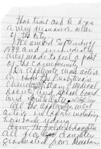 Pg. 2, Applegates in Monahans, written by Maggie