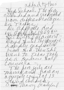 Pg. 3, Applegates in Monahans, written by Maggie