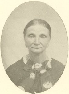 Barbara Keller Martin, age 80 (1819-1900), mother of Fredrica Martin Daniel and grandmother of Ted Applegate