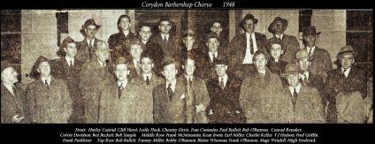 Barbershop chorus, 1948
