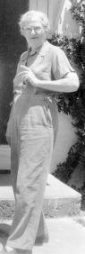 Bobbie (Grace Daniel Applegate), August 1952, Monahans