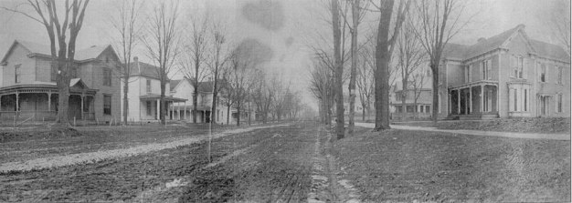 Early photo of Capitol Ave., Corydon