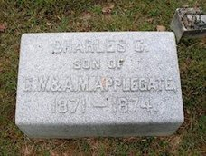 Charles C. Applegate, 1871-1874 (brother to GWA II, 1875-1950)