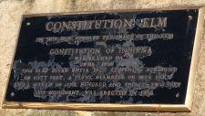 Constitution Elm plaque, Corydon