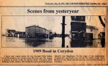 Corydon flood, 1909