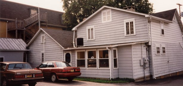 Back of Corydon house