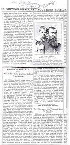 Dr. William and Carlton Daniel news article