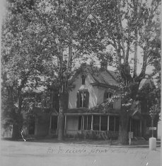 Dr. William Daniel home, northwest corner of N. Capitol and W. Walnut St., Corydon, Indiana