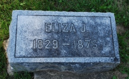Eliza Jane Patten headstone