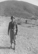Ted Applegate Army photo, 1943