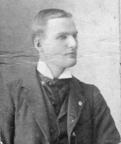 Fred Daniel (1876-1924), brother of Grace Daniel Applegate. He was a dentist in Elwood, IN. He was deaf and died after being hit by a train.