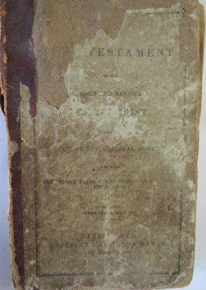Fredrica Martin's New Testament