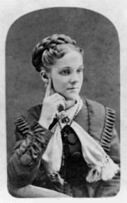 Fredrica Martin Daniel (1855-1940) mother of Grace Daniel Applegate and grandmother of Ted Applegate