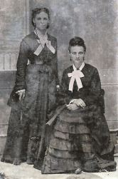 Fredrica Martin Daniel on left