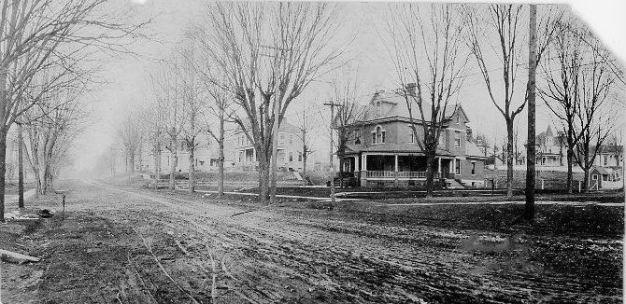 G. W. Applegate home in Corydon