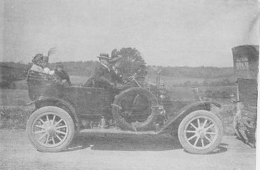 Geo. William Applegate II, first car