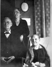 Dr. Wm, Fredrica, Grace Daniel apx 1930