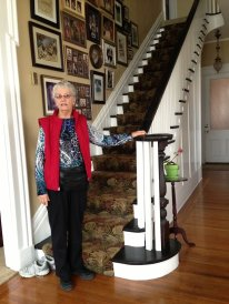 Grace in childhood home of Ted Applegate in 2013