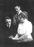 Geo Wm III, Ted, Grace Daniel Applegate apx_1915