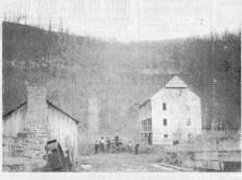 Grist sawmill, 1800s