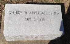 Geo Wm Applegate IV (Sonny) headstone