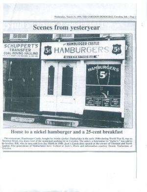 Hamburger Castle, early 1940s