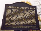Harrison County Fairgrounds sign