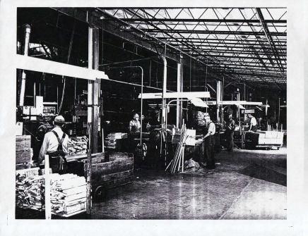Inside Keller Manuf., 1962