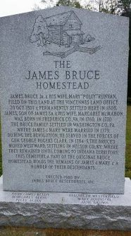 James Bruce plaque