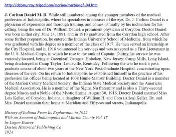 Dr. John Carleton Daniel bio