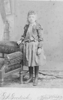 Julia Ann Gordon as a child (1882-1921)