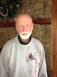 Kent Gordon, 2nd cousin of Applegate girls. He lives in a beautiful cabin he built on Margaret Hoffman Gordon's farm.