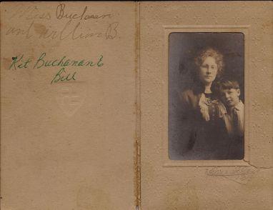 Kit Daniel Buchanan and son Bill