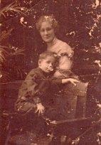 Kitty Daniel Buchanan and son Bill (1906-1983).