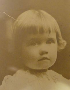 Maggie Patten as a child.