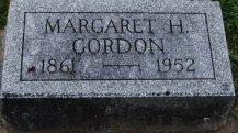 Margaret Hoffman Gordon headstone