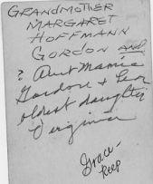Margaret Hoffman Gordon and others (back)