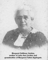 Margaret Hoffman Gordon 1861-1952