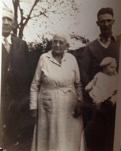 Margaret Hoffman Gordon and unknown
