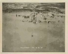 Mauckport flood, 1937