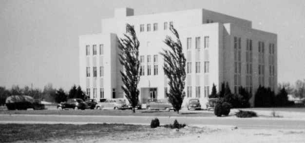 Monahans Court House, 1949