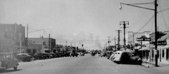 Monahans main street, 1949