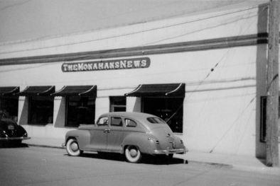 Monahans News building, 1949