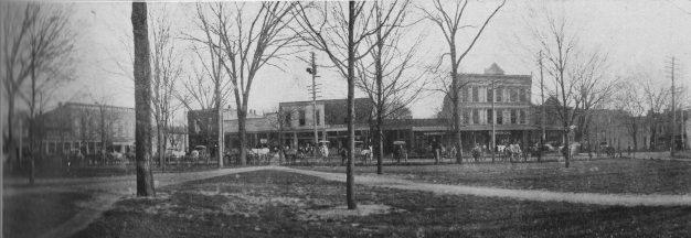 Old downtown Corydon,