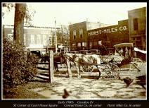 Old downtown Corydon