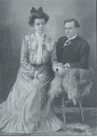 Olive Daniel and Harry Rhodes. Olive was 1/2 sister to Dr. Wm Daniel, and daughter of Wm S. Daniel and Julia Cole. She lived from 1879-1967.