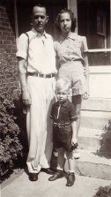 Uncle Pud, daughter Janice (1926-1979) and son Sonny (G. W. Applegate IV, 1936-2007)